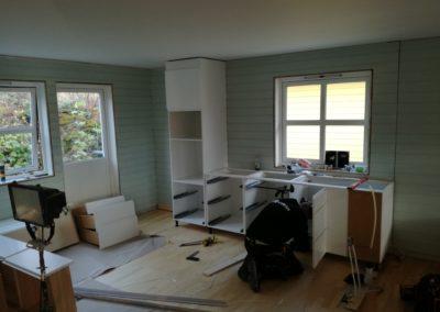 Kjøkkenmontering